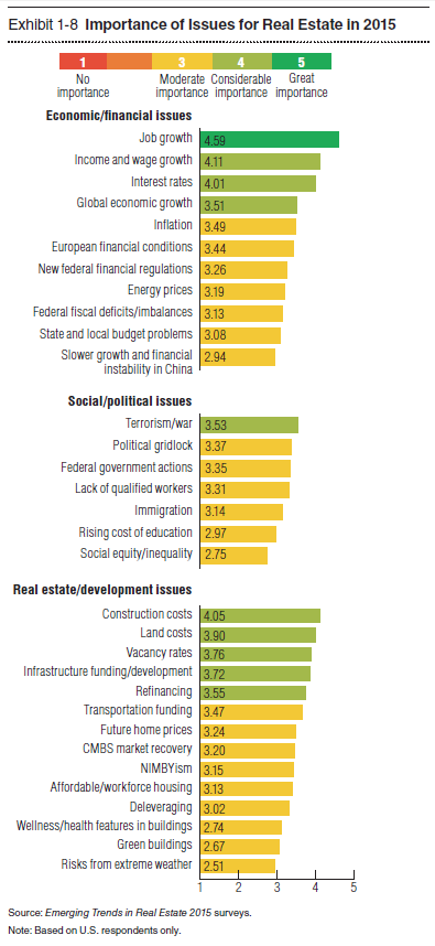 Importance of Issues for Real Estate in 2015.PNG